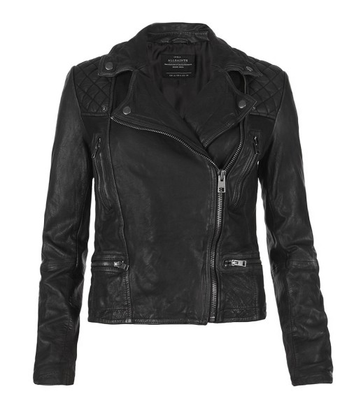 All-Saints-Cargo-Biker-Jacket-Closed-Black