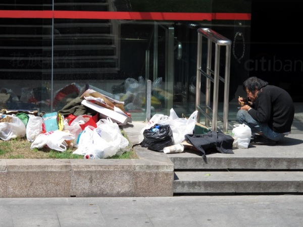 Beijing-China-Photograph-Beggar-No-Homeless-Eating