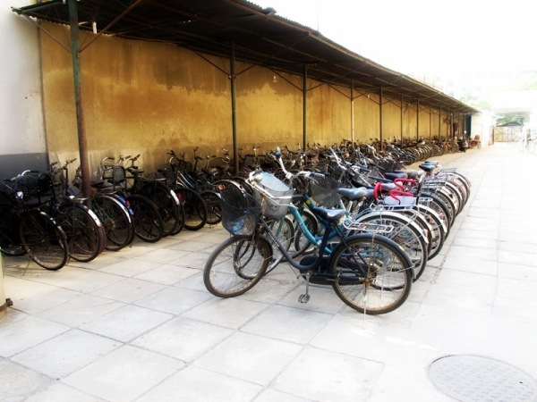 Beijing-China-Photograph-Bicycles-Metro-Station