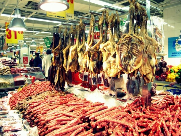 Beijing-China-Photograph-Carrefour-Grocery-Dried-Food