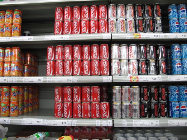 Beijing-China-Photograph-Carrefour-Pop-Soda-Cans