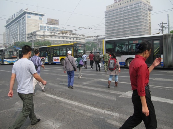 Beijing-China-Photograph-Crossing-the-Street