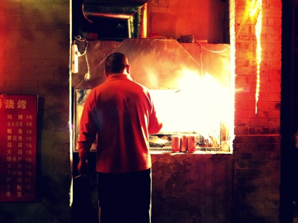 Beijing-China-Photograph-Night-Stall-Market-Cooking-Restaurant