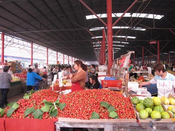 Beijing-China-Photograph-Open-Air-Market-2