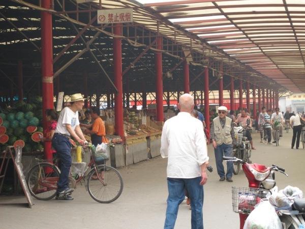 Beijing-China-Photograph-Open-Air-Market
