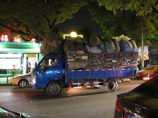 Beijing-China-Photograph-Recycling-Truck