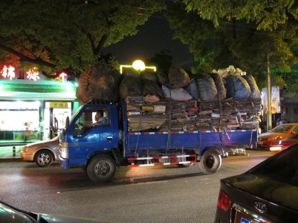 Beijing-China-Photograph-Recycling-Truck