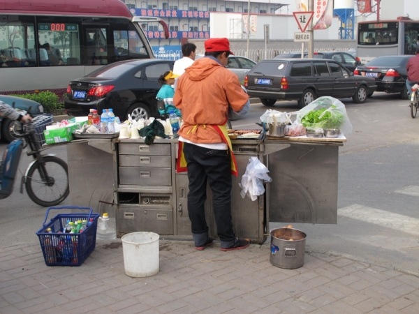Beijing-China-Photograph-Street-Stalls-Breakfast-Morning