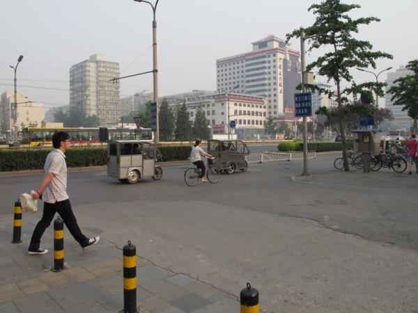 Beijing-China-Photograph-Transportation-Covered-Bicycle-Tuktuks