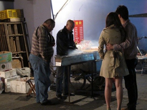 Beijing-Photograph-Street-Stall-Grilling-Meat