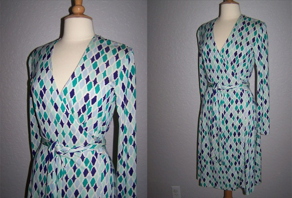 Diane-von-Furstenberg-Harlequin-Wrap-Dress-Thrifted-Wardrobe