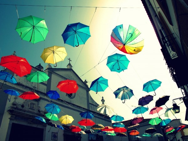 Evora-Umbrellas-in-Sky-Photograph-Art-Installation-Church