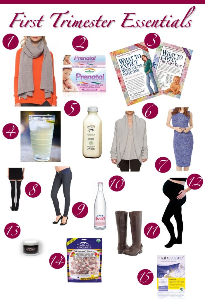 First-Trimester-Essentials-15-Items
