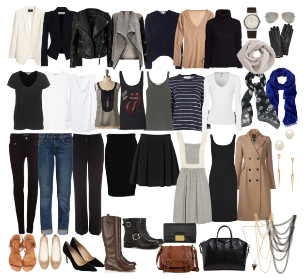 French Wardrobe Parisian Fashion List Essentials Items