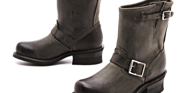 FOR SALE: Like New (Worn Once) Frye Engineer 8R Charcoal Boots – Size 8.5 – $250 USD (Shipping Included)