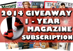 Win a 1-year magazine subscription