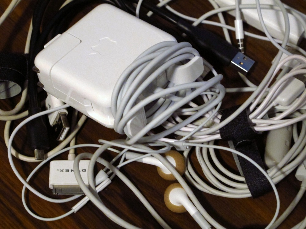 Organizing Series: How to organize your cords and cables | Save ...