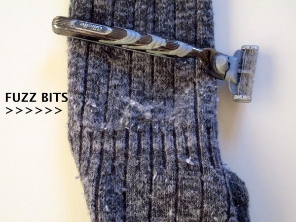How-to-remove-fuzz-pilling-sweater-socks-wool-shaving-razor_FUZZ-BITS