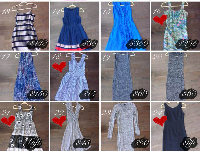 Luxe-Minimalism_Save-Spend-Splurge_What-is-in-my-closet_Dresses_Two_Price-Tag-Costs