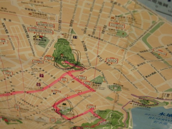 Macau-Travel-Map