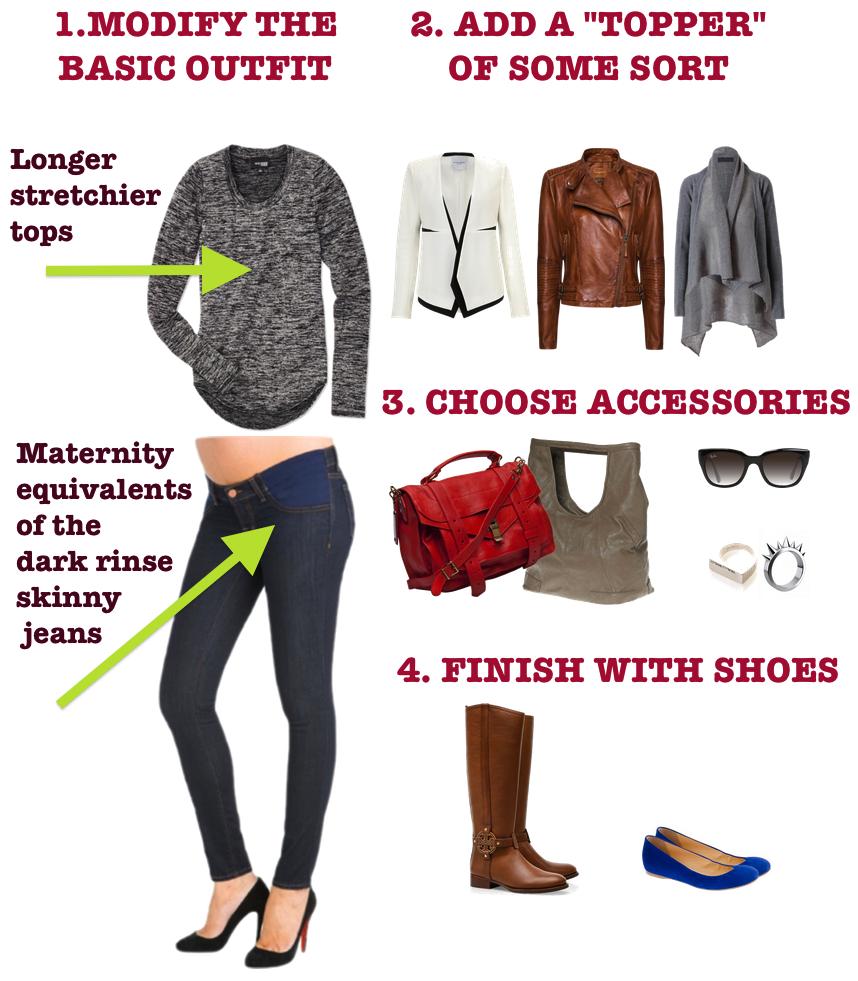 Staying stylish while transitioning to maternity wear: Maternity ...