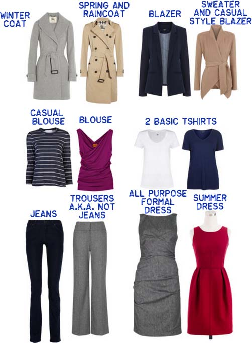 Principles Of A Practical And Functional Minimalist Wardrobe - Extreme minimalist wardrobe