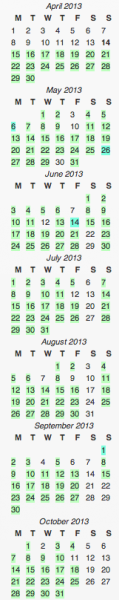 Mochimac-Calendar-Scheduled-Posts-October-2013