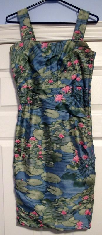 Monet-Vintage-Silk-Dress