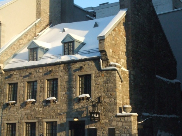 Photograph-Montreal-Canada-Quebec-Restaurant-Vieux-Port-Snow-Winter-Home-House