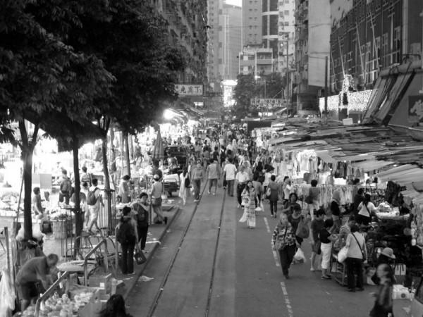 Photograph-Travel-Hong-Kong-Asia-Market-Food-Night