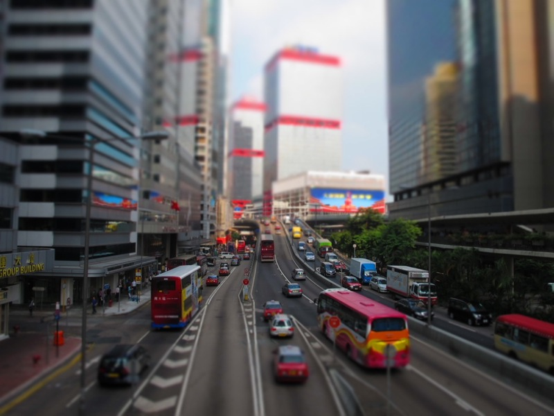 Photograph-Travel-Hong-Kong-Asia-Streets-Busy-Traffic