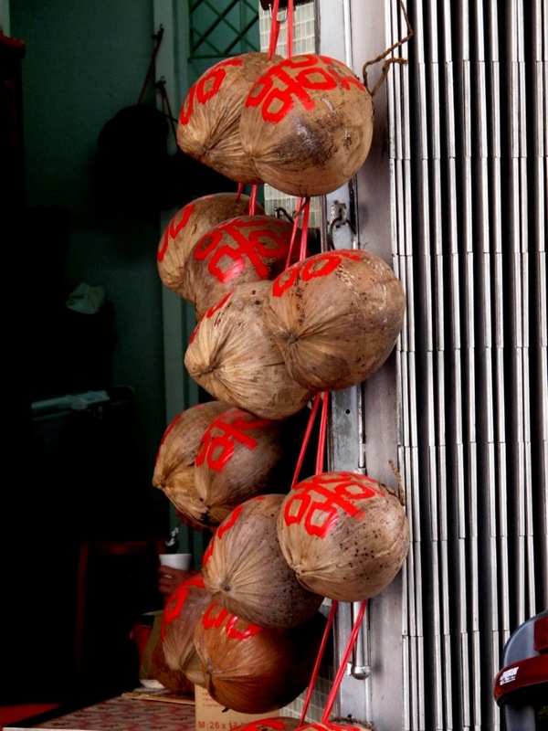 Photograph-Travel-Macau-Asia-Coconut-Fruit-Market