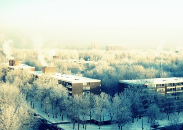 Photograph-Travel-Montreal-Quebec-Canada-Winter-Snow-Frozen