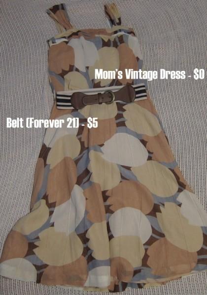 Photograph-Wardrobe-Vintage-Tulip-Dress-Forever-21-Striped-Belt