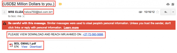 Scamming-Email-Phishing-Mrs-Eliza-Millions-Email-Send-Money