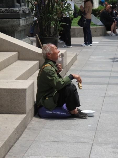 Shanghai-China-Photograph-Old-Man-Begging