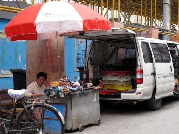 Shanghai-China-Photograph-Store-Van-Old-Fabric-Scraps