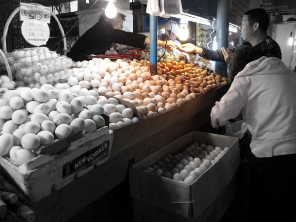 Shanghai-China-Photograph-Wet-Market-Eggs-Food