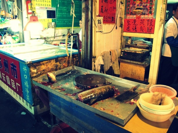 Shanghai-China-Photograph-Wet-Market-Fish-Seafood-Food