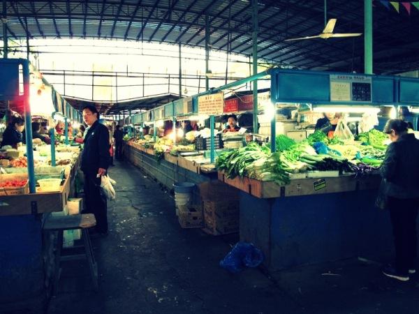 Shanghai-China-Photograph-Wet-market-Inside-Food