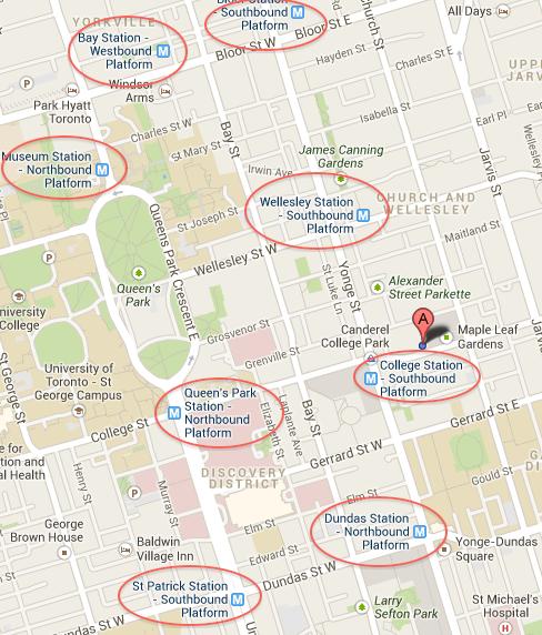 TTC-Map-Google-Maps-Stations