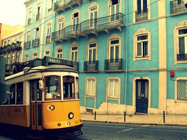 Travel-Photograph-Lisbon-Portugal-Europe-Tram-Streetcar-Travel-Transportation