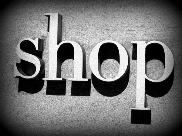 Travel-Photograph-NYC-New-York-City-USA-Shop-Sign-Shopping