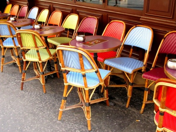 Travel-Photograph-Paris-France-Cafe-Chairs-Colourful-Relax