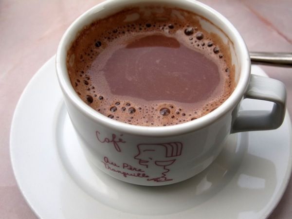 Travel-Photograph-Paris-France-Cup-of-Hot-Chocolate-Cocoa-Drink-Relax