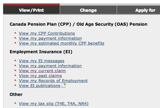 View-CPP-EI-Service-Canada-Notes