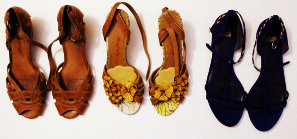 Wardrobe-Closet-Shoes-Sandals-Clarks-Miss-Sixty-Yellow-Flowers-Cutout-Camper-Indigo-Blue-Flats-3