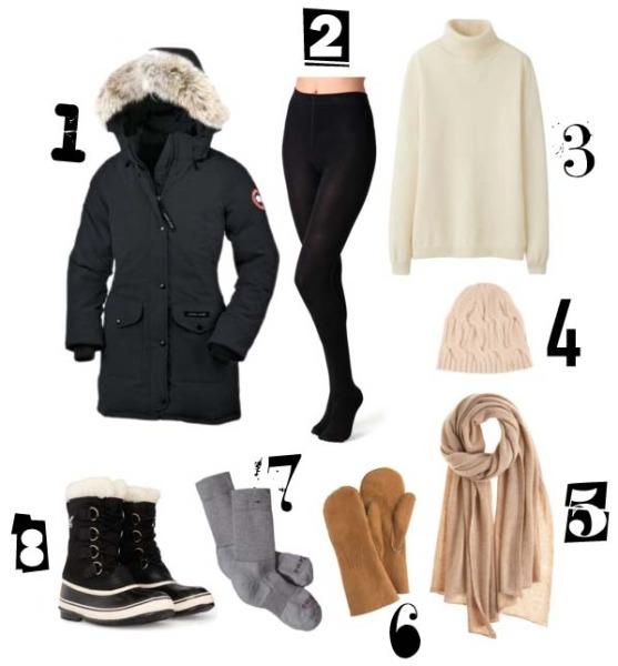 Winter-Essentials-Sub-Zero-Temperature-Clothing-Accessories