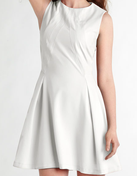 Zac-Posen-Z-Spoke-Sleeveless-White-Jersey-Dress