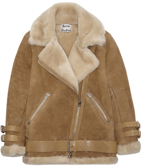 Style Shopper Review Of The Acne Studios Shearling